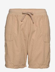Shorts, above knee - shorts - sand