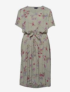 VCIGGA, S/S, DRESS - midi kjoler - light green