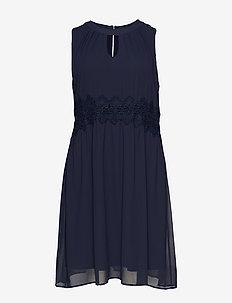 XMARRI, BLK , DRESS - DARK BLUE