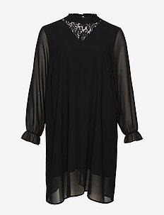XZINA, KNEE , DRESS - BLACK