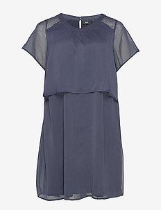 XVERRA, S/S, DRESS - short dresses - dark blue