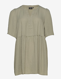 XCALLY, ½, TUNIC - tuniken - light green