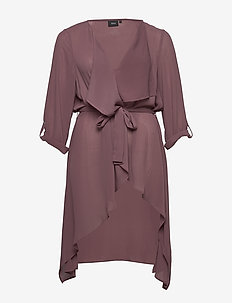 XBOLZA, 3/4, KIMONO - kimonot - brown