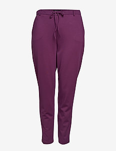 ZMaddison, cropped, pant - PURPLE