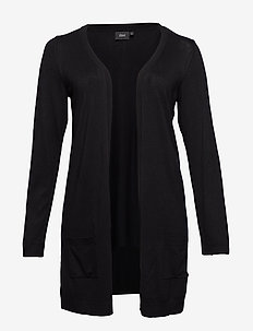 Cardigan, Long Sleeve - BLACK
