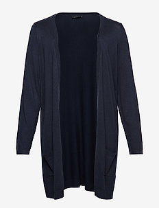 Cardigan, Long Sleeve - DARK BLUE