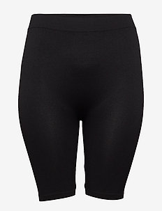 SEAMLESS, SHORTS - black