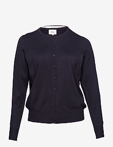 Cardigan, LS - DARK BLUE