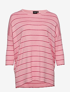 MTHERESA 3/4 BLOUSE - pitkähihaiset t-paidat - pink