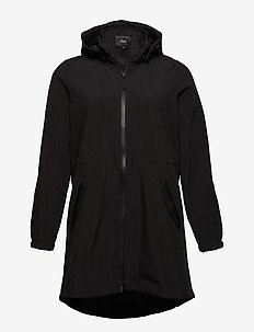 Softshell Jacket Waterproof Soft and Warm - parkas - black