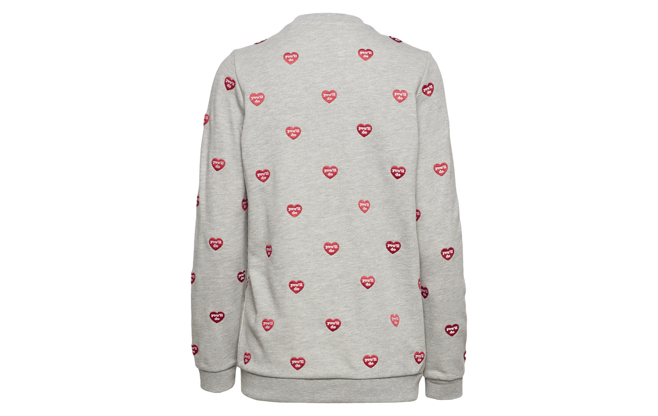 Sweat Night 100 Loose Coton Fit Karssen Zoe Moonless Embroidered wRO7qTF