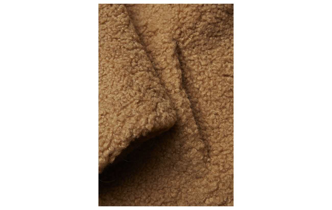 Teddy 100 Zoe Brun Coat Karssen Fur Polyester Faux wxA6qU4