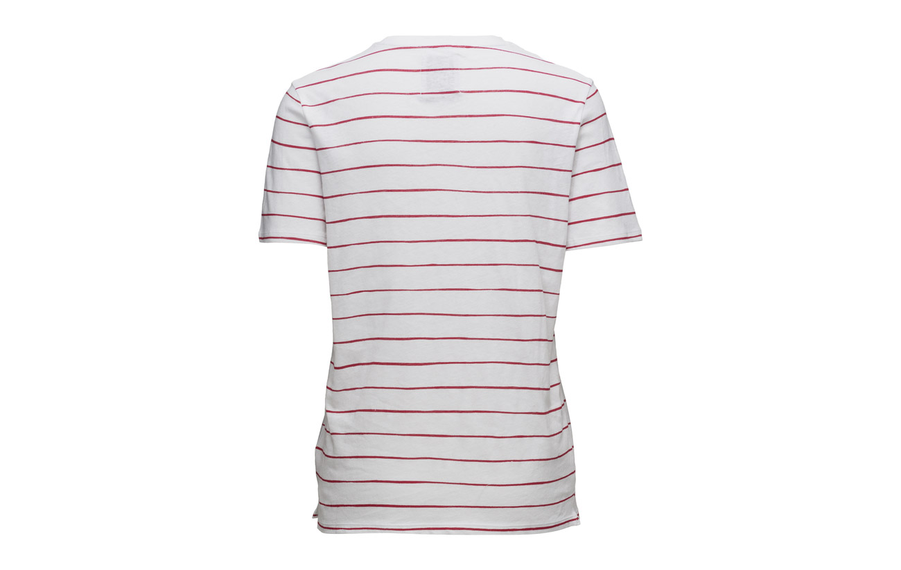 Optical Loose tango Red 80 Coton Lin Tee White Zoe Karssen Fit 20 TI5wqHxSg