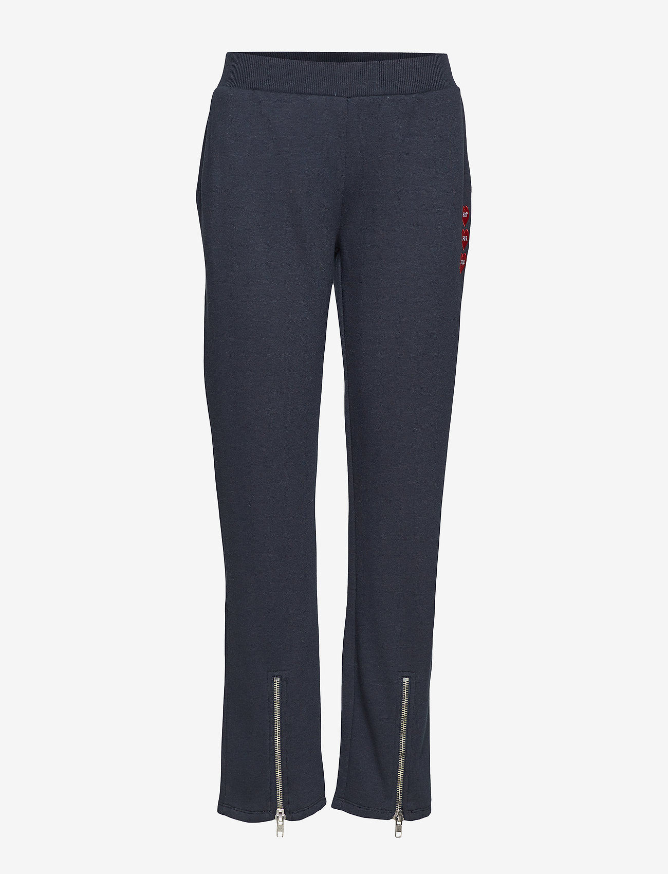 Zoe Karssen - HIGH WAIST ZIP SWEATPANTS - sweatpants - salute