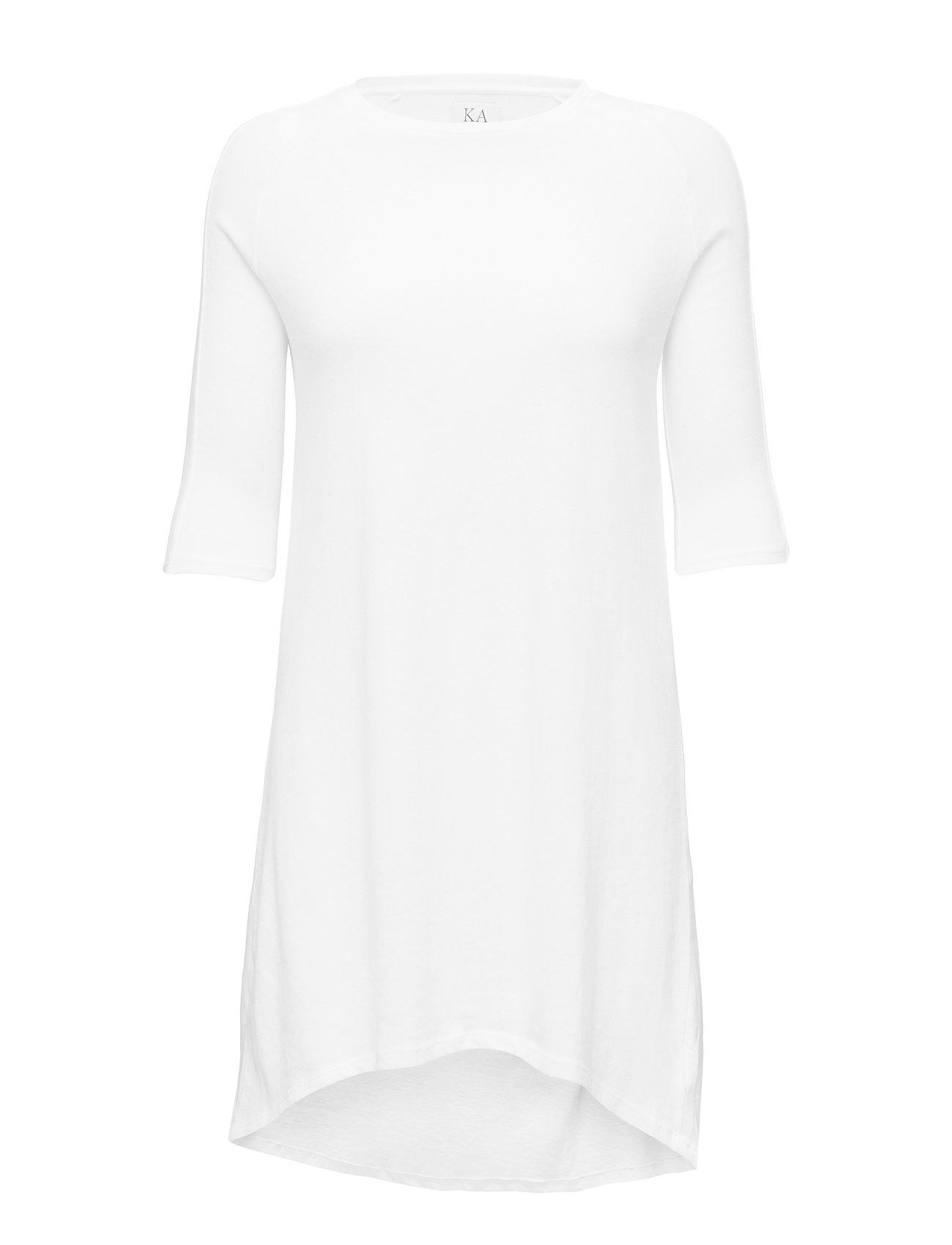 Zoe Karssen A-LINE RAGLAN DRESS - OPTICAL WHITE