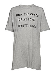 BOYFRIEND FIT T-SHIRT - GREY HEATHER