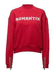 LOOSE FIT SWEAT ROMANTIX - TOMATO