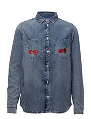 CLASSIC DENIM SHIRT LOVER - LIGHT MID WASH