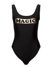 SWIMSUIT MAGIC - JET BLACK
