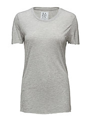 LOOSE FIT SHORT SLEEVE - GREY HEATHER