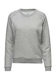 LOOSE FIT SWEATER - GREY HEATHER