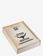 Zwilling - Steak cutlery set - biffbestikk - silver - 1