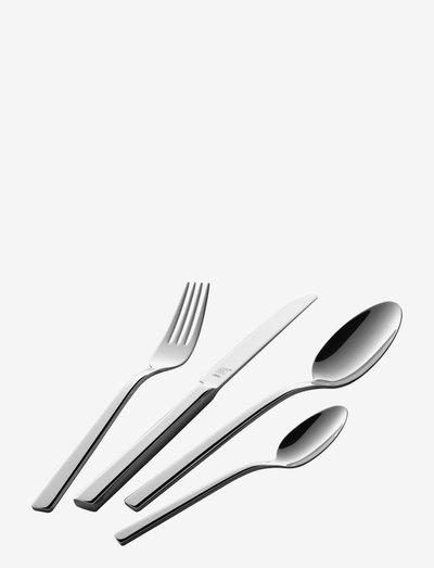 24-pcs. Flatware Set - bestikksett - silver