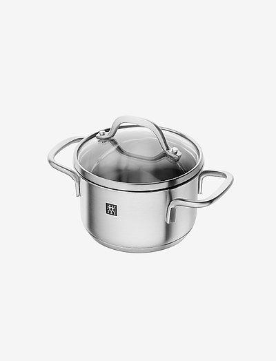 Stew pot - kasseroller - silver