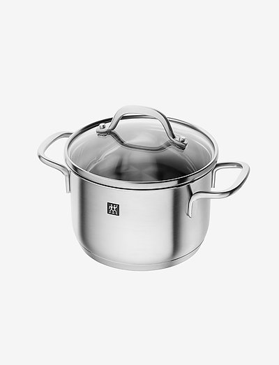 Stock pot - kasseroller - silver